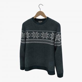 Sweater on Hanger 3D