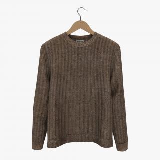Sweater on Hanger 2 3D model