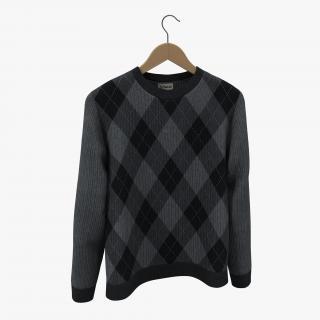 Sweater on Hanger 3 3D model