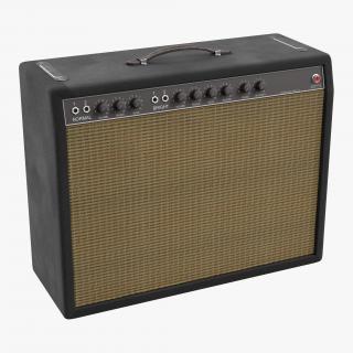 3D Retro Guitar Amp