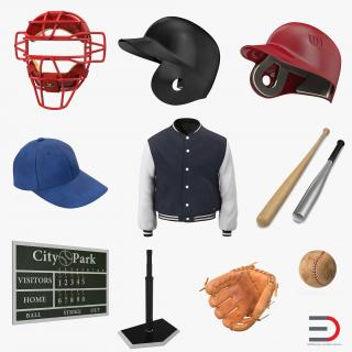 3D Baseball Collection 6