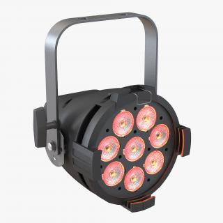 3D ETC ColorSource LED PAR model