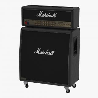 3D model Guitar Amplifier Marshall