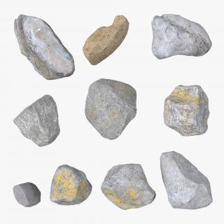 3D model Stones Set