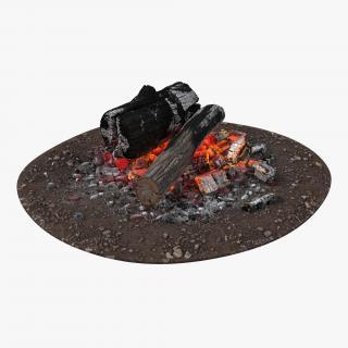 3D model Campfire