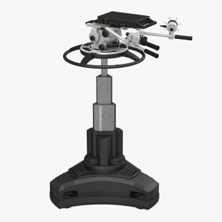 3D model TV Studio Camera Pedestal