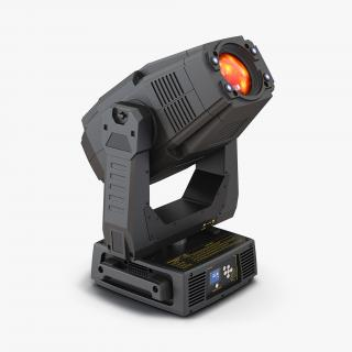 3D model LED Stage Moving Light Generic