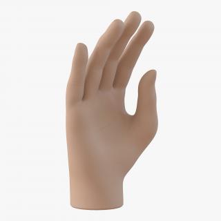 Plastic Hand 3D