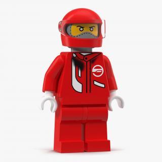 3D Lego Man Fireman