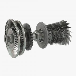 Turbine 3 3D model
