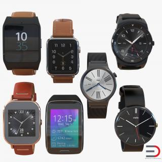 3D model Smartwatches Collection 2