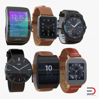 3D model Smartwatches Collection 3
