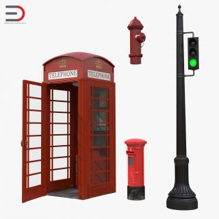 3D London Elements Collection