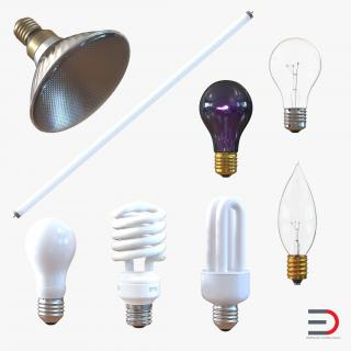 Light Bulbs 3D Models Collection 3 3D model