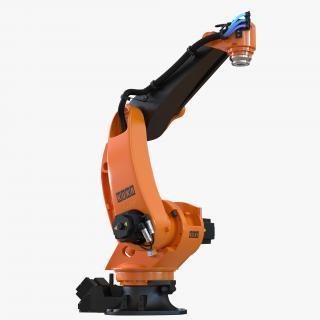 3D Kuka Robot KR-40 PA Rigged