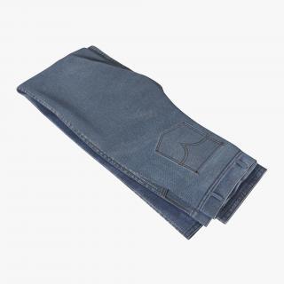 Folded Jeans 4 3D model