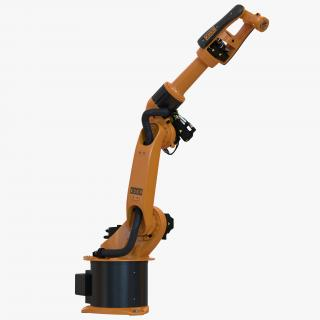 3D Kuka Robot KR-16 L8 arc HW Rigged model