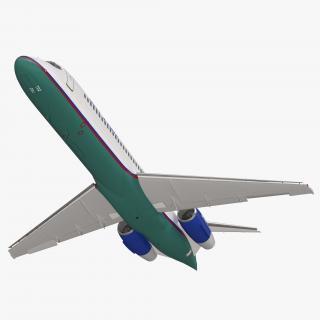 Boeing 717 200 AirTran Airways Rigged 3D