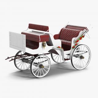 3D Wedding Carriage