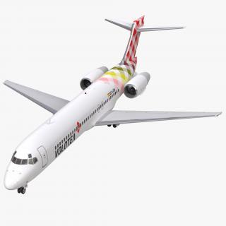 Boeing 717 200 Volotea 3D