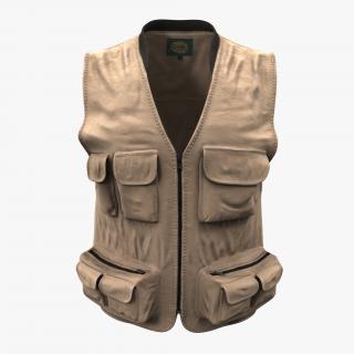 Fishing Vest 3D
