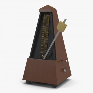 3D Manual Metronome 3 model