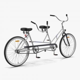 3D Bicycle Built for Two