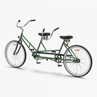 Retro Bicycle Built for Two 3D