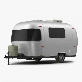 Retro Air Stream Recreational Vehicle 3D