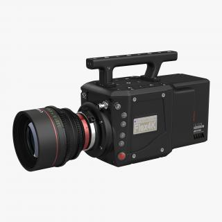 3D model High Speed Digital Camera Phantom Flex4K