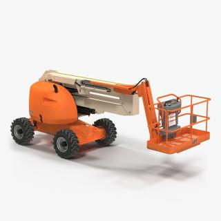 3D model Telescopic Boom Lift Generic 2