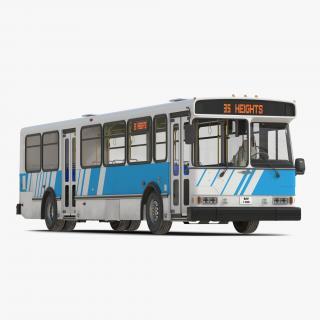 3D model Orion V Transit Bus Simple Interior