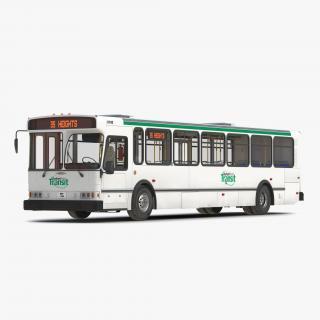 3D model Orion V Transit Bus Durham Transit Simple Interior