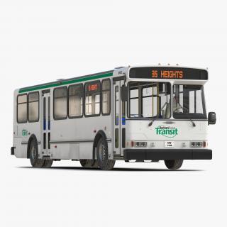 Orion V Transit Bus Durham Transit 3D model