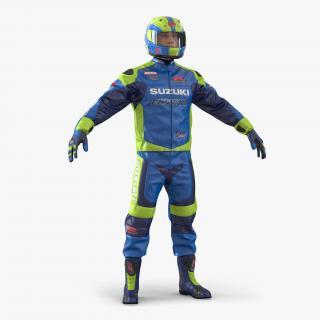 3D Motorcycle Rider