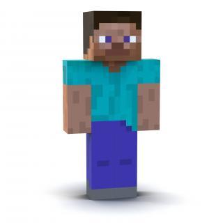 3D model Minecraft Steve