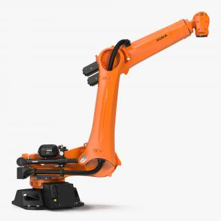 Kuka Robot KR QUANTEC Ultra Rigged 3D model