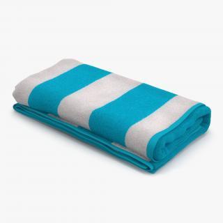 3D Beach Towel 3 model