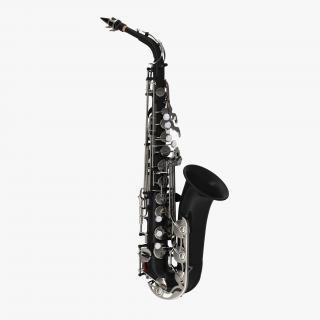 3D model Black Saxophone