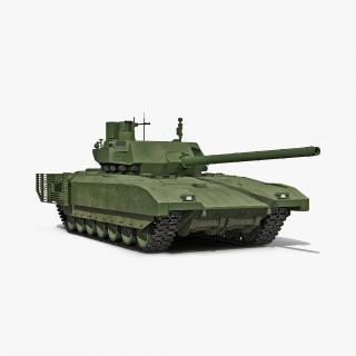 3D Tank T-14 Armata