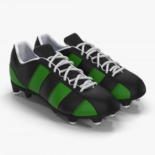 Football Boots 2 Green 3D