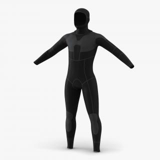 Dive Wetsuit 2 3D model