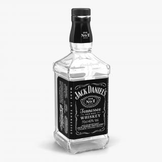 3D model Jack Daniels Bottle Empty