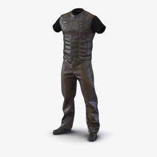 Biker Outfit Generic 2 3D