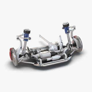 SUV Front Suspension 2 3D