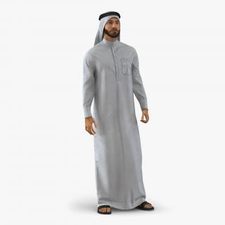 3D model Arab Man Rigged