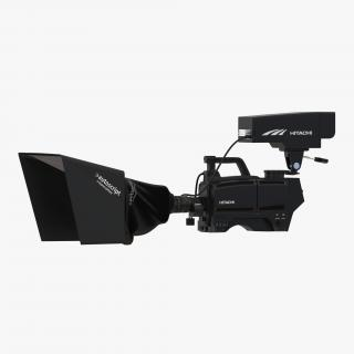 3D TV Studio Camera Hitachi 2