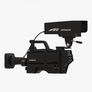 3D TV Studio Camera Hitachi 3