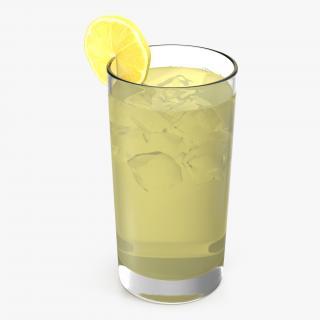 Glass of Lemonade 3D