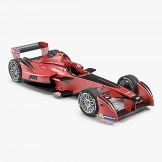 Formula E Race Car ABT 3D